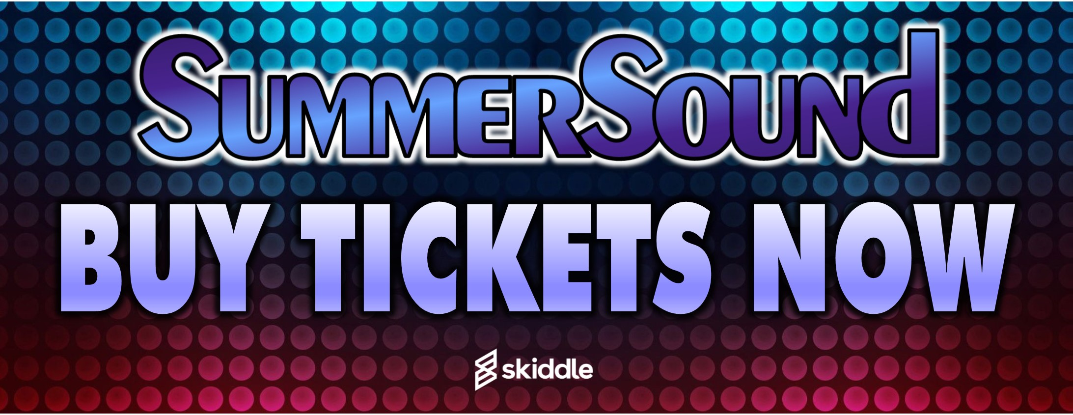 Banner - Summer Sound Tickets